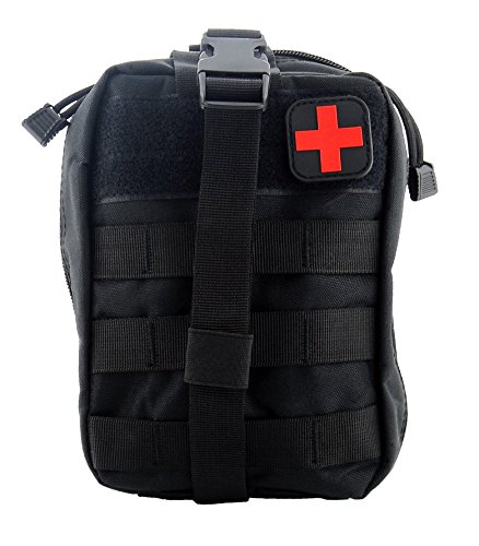 Bausweety Tactical IFAK Molle EMT Medical First Aid Utility Pouch