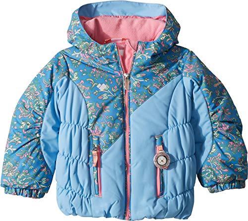 Obermeyer Kids Baby Girl's Cakewalk Jacket (Toddler/Little Kids/Big Kids) Honeysuckle Blue 5 ()