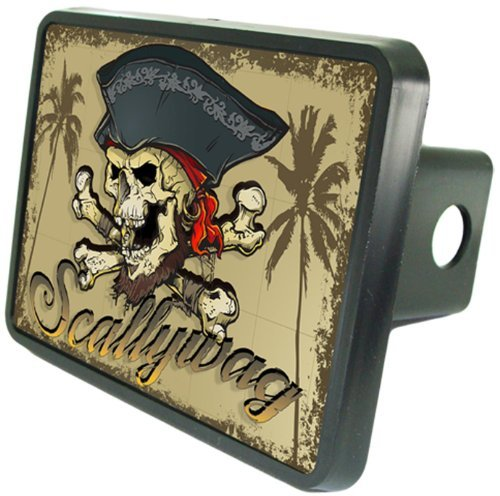 Scallywag Pirate Hitch Cover 2