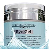 Eye Gel, for Dark Circles, Puffiness, Wrinkles, Skin Firming and Bags - Effective