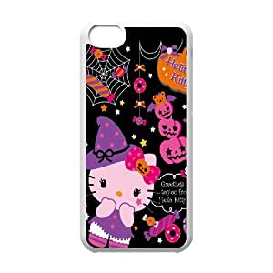 Hello Kitty ROCK0008761 Phone Back Case Customized Art Print Design Hard Shell Protection Iphone 5C