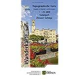 Wanderkarte WK25 Zittauer Gebirge, Bl. 51, Topographische Sonderkarten Sachsen, mit Oder-Neiße-Radweg und Umgebinderadweg