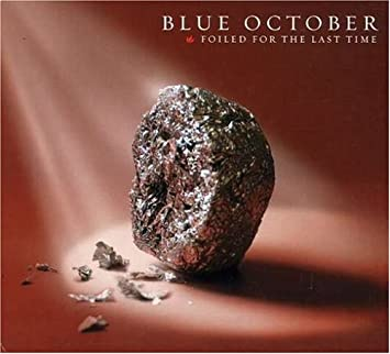 amazon foiled for the las time dig blue october ヘヴィー