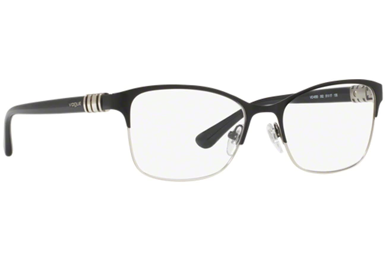 e8b5a2d48f Vogue VO4050 Eyeglass Frames 352-51 - Black Silver VO4050-352-51 at Amazon  Men s Clothing store