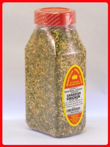 CANADIAN CHICKEN SEASONING FRESHLY PACKED IN LARGE JARS, spices, herbs, seasonings