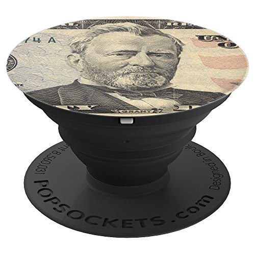 Ulysses S. Grant from the Fifty Dollar Bill - PopSockets Grip and Stand for Phones and Tablets