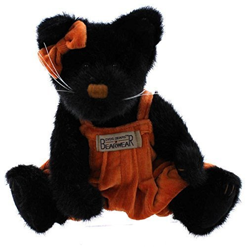 Boyds Halloween Bear - Boyds Bears Plush SAMANTHA SNEAKYPUSS 91979 Halloween Cat Black