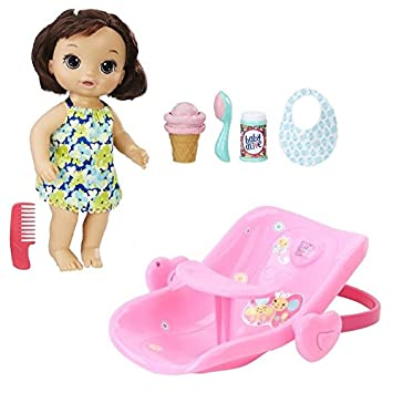 Baby Alive Bundle Magical Scoops Brunette With 2 In 1
