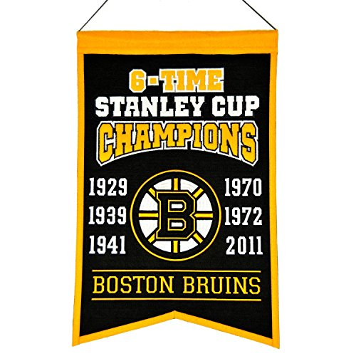 NHL Boston Bruins Stanley Cup Champions Banner
