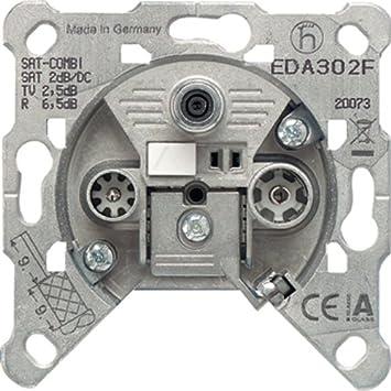 Berühmt Jung EDA 302 F Einzeldose EDA302F 3Loch, Grau: Amazon.de: Baumarkt CG95