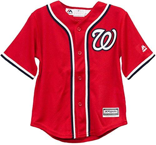 Washington Nationals Red Alternate Cool Base Infant Jerseys (24 - Blank Washington Nationals