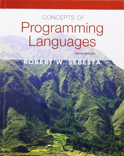 Concepts of Programming Languages (10th Edition) by Brand: Addison-Wesley