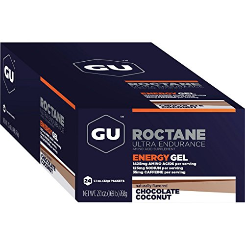 GU Roctane Energy Gel – 24 Pack Chocolate Cconut, One Size