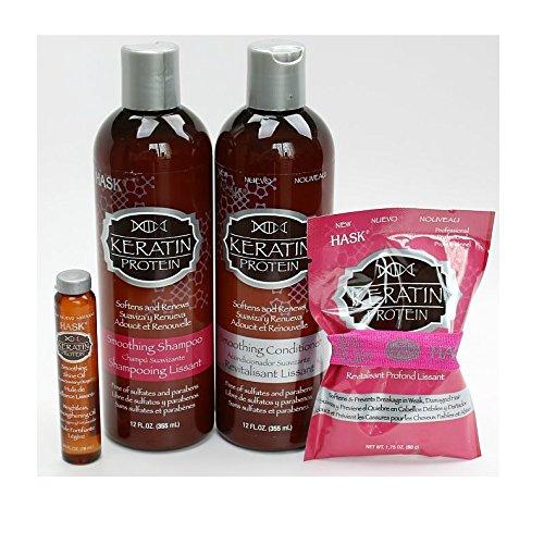 Hask Sh Keratin Protein Size 12z Hask Karatin Protein Shampoo 12z