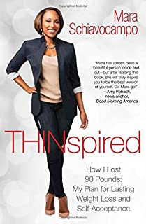 Book Cover: Thinspired: How I Lost 90 Pounds -- My Plan for Lasting Weight Loss and Self-Acceptance