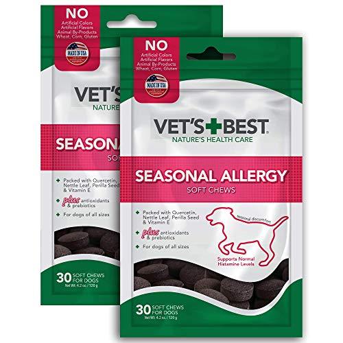 Vets Best Seasonal Allergy Soft Chews (2 Pack)