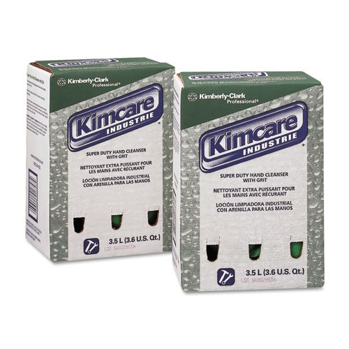 KIMBERLY-CLARK-PROFESSIONAL-KIMCARE-INDUSTRIE-SuperDuty-Hand-Cleanser-wGrit-Herbal-35L-Bag-In-Box-Includes-two-per-case