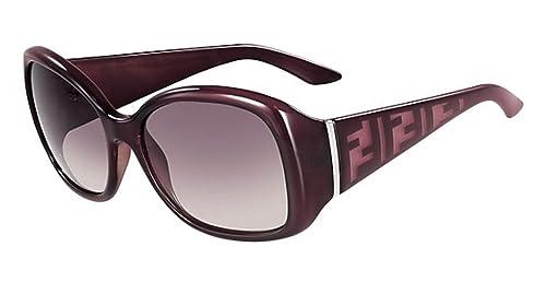 Fendi - Gafas de Sol - para Hombre Rojo Oscuro: Amazon.es ...