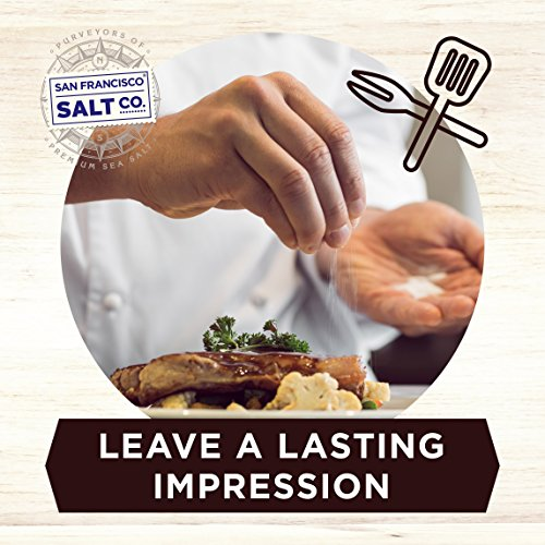 8 oz. Chef's Jar - Authentic Italian Black Truffle Gourmet Sea Salt by San Francisco Salt Company (Image #4)