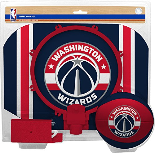 NBA Washington Wizards Slam Dunk Softee Hoop Set