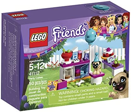 Stupendous Amazon Com Lego Friends Party Cakes 41112 Toys Games Funny Birthday Cards Online Barepcheapnameinfo