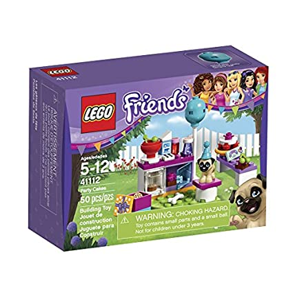 Amazoncom Lego Friends Party Cakes 41112 Toys Games