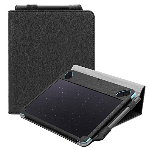 Fintie Folio Vegan Leather Case Stand Cover for Wacom Intuos