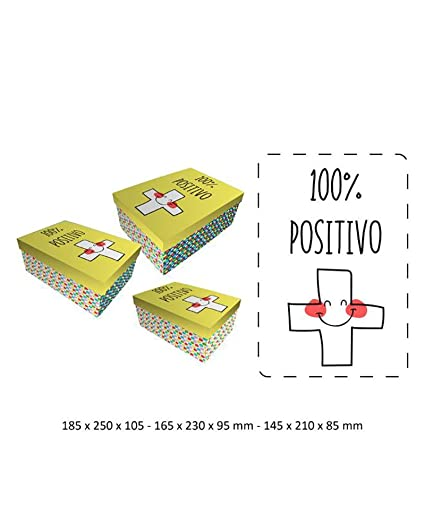 BRANDS|BAGGY Set cajas regalo Baggy positivo
