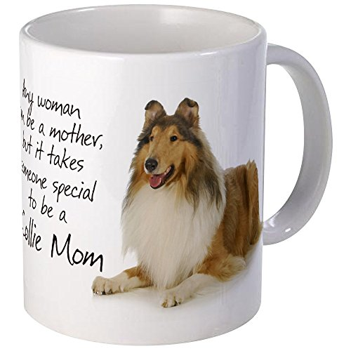 CafePress - Collie Mom Mug - Unique Coffee Mug, Coffee Cup