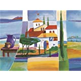 Canvas Prints Of Oil Painting ' Colorful Houses ' , 20 x 27 inch / 51 x 68 cm , High Quality Polyster Canvas Is For Gifts And Foyer, Game Room And Nursery Decoration, pictures printed on