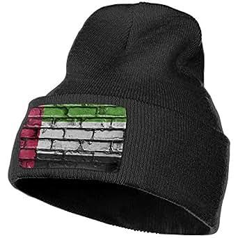 United Arab Emirates Flag Banner Bricks Wall Unisex Warm