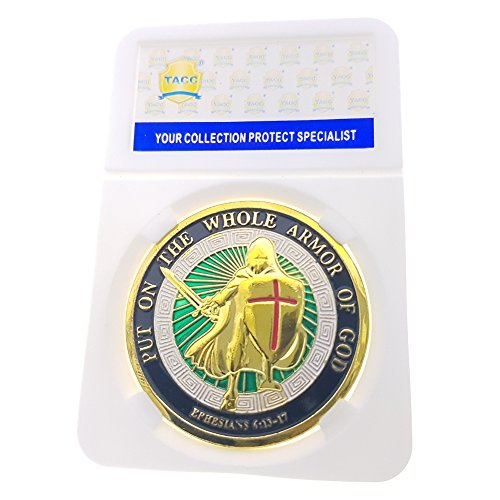 New TACC Commemorative Coin Collection Breastplate Helmet Shield Color Knight (Knight Plated Helmet)