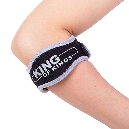 0f6bc36374 King of Kings Tennis Elbow Brace with Compression Pad (2-Count) - Golfer's