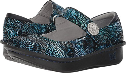 Alegria Womens Paloma Mary Jane, Fandamonium Blues, Size 35 EU (5-5.5 M US Women)