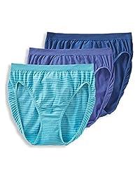 062e6d483415 Jockey Women's Underwear Comfies Cotton French Cut - 3 Pack