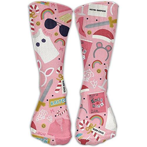 Cute Emoji Suglasses Rainbow Juice Design Pink Classics Personalized Socks Sport Athletic Stockings 30cm Long Sock For Men - Suglasses