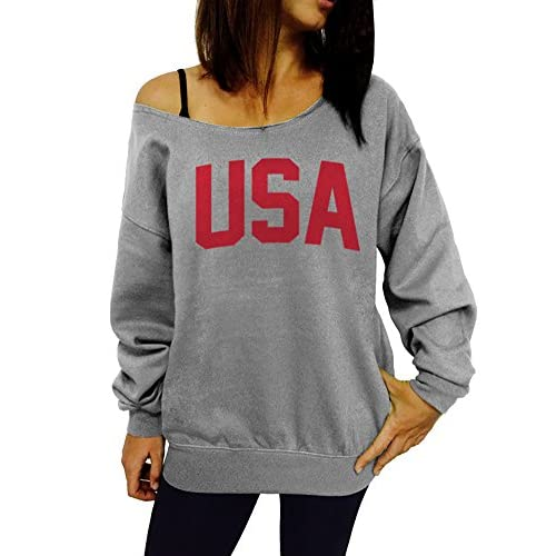 Dentz Design USA Slouchy Sweatshirt