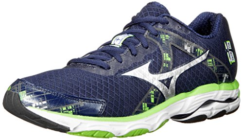 Mizuno Men's Wave Inspire 10 Running Shoe,White,11.5 D US