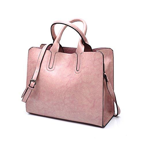 Rétro Lady Shopping Pink Sac Voyage Main Mode Crossbody à à Sac Dos Vrac UtrUwpq