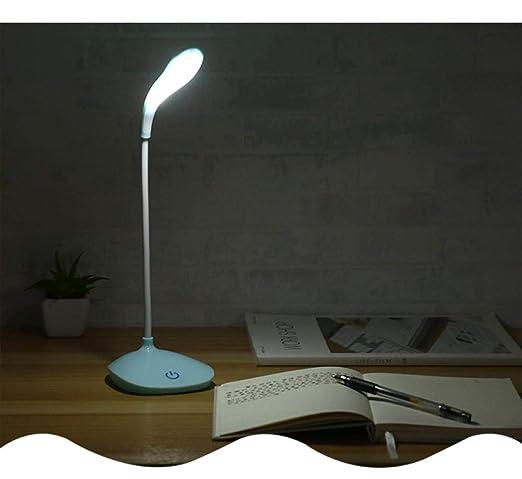 Lámpara de Escritorio Táctil, Flexo LED Regulable, Lámpara de Mesa ...