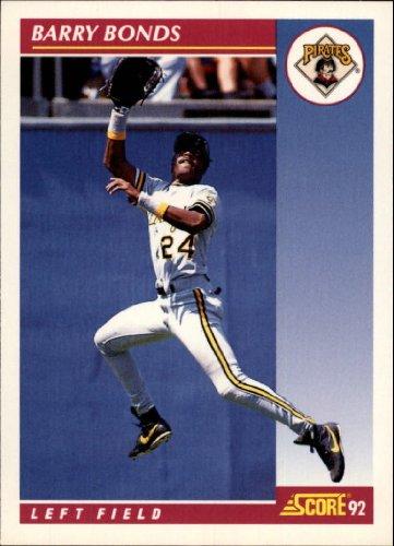 Amazon.com: 1992 Score Baseball Card #555 Barry Bonds: Collectibles & Fine Art