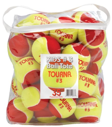 Tourna Sports Stage 3 Quick Start Low Compression Balls (35 Balls)
