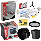 0.43x High Definition II Wide Angle Panoramic Macro Fisheye Lens For Sony Cybershot DSC-RX100 II RX100B DCS-RX100 Camera Includes Includes Bonus + High Definition II UV (0) Ultra Violet Haze Multi-Coated Glass Filter + Tube Adapter + Deluxe Lens Cleaning Kit + LCD Screen Protectors + Mini Tripod + 47stphoto Microfiber Cloth + $50 Photo Print Gift Card!