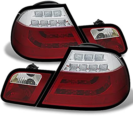 1x Fits BMW 3 Series E46 24-LED Red Rear High Power Fog /& Tail Light Lamp Bulb
