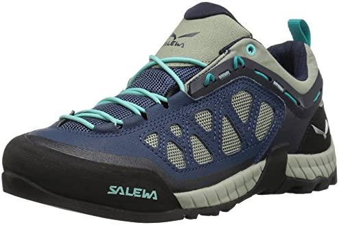 Salewa Women s Firetail 3 Approach Shoes Approach, Hiking, Alpine Climbing Vibram Sole, Climbing Lacing, Breathable Upper