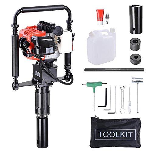Gas T Post Driver 2 Stroke 32.7cc Manual Portable Lightweight Petrol Piledriver
