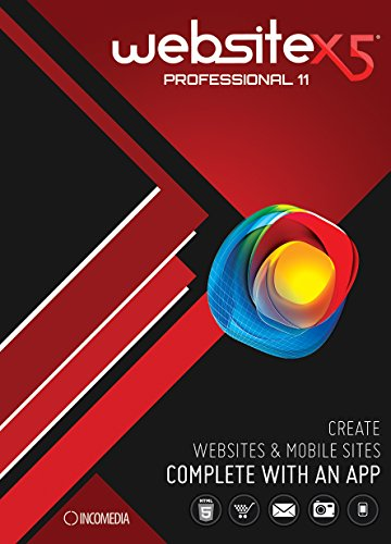 WebSite X5 Professional 11 [Download] by Incomedia