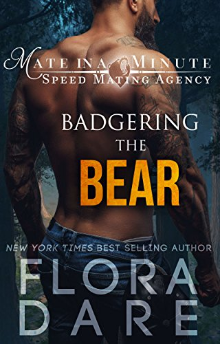 Badgering the Bear: A Paranormal Shifter Romance (Mate in a Minute Speed Mating Agency Book 1) - Speed Dating In