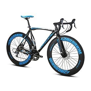 Extrbici - Bicicleta Profesional de Carretera XC700, Ruedas 700 C x 700 MM, Cuadro