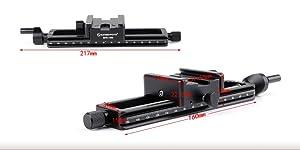 Sunwayfoto MFR-150s Macro Sledge